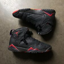 "Men's Vintage 1992 Original OG Nike Air Jordan VII 7 ""Raptors"" Black Red Sz 8"