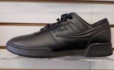 Fila men's original fitness all black shoes