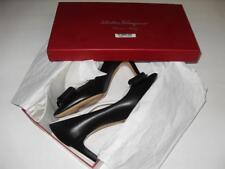 New Women's Salvator Ferragamo Pointed Heels - Black - Size 6 - NWT $720.72