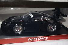 Porsche 911 (997) GT3 R 2010 Plain Body schwarz 1:18 AUTOart neu & OVP 81071