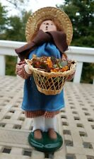 Byers Choice 2004 Harvest Girl with Basket