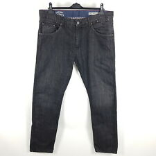 Tommy Hilfiger Jeans Ryder Regular Herren W38 L34 Tapered Clearwater Black
