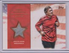RARE 2012 TOPPS OLYMPIC ABBY WAMBACH BRONZE RELIC CARD /75 USA SOCCER WORLD CUP