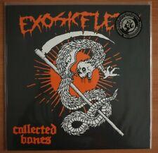 """Exoskelett """"Collected bones""""  LP bone vinyl NEW open seal"""