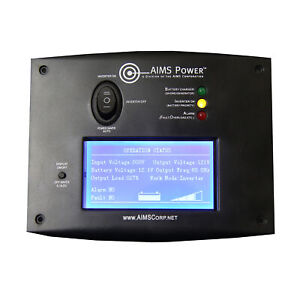 LCD Remote Switch for Pure Sine Inverter Chargers By AIMS Power