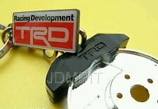 DISCONTINUED JAPAN TRD OFFICIAL Key Ring Brake Disc Metal TOYOTA Corolla Camry