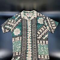 Hilo Hattie THE HAWAIIAN ORIGINAL Men's XXL 2XL FLORAL Shirt Made in Hawaii