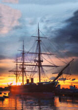 HMS WARRIOR - LIMITED EDITION ART (25)