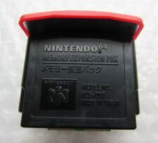Authentic OEM Nintendo 64 N64 Red Video Game Memory Expansion Pak Ram Official