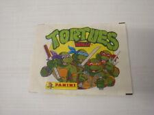 Panini TORTUES NINJA Teenage Mutant Hero Turtles Pochette Packet Bustine 1990