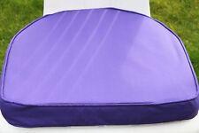 Garden Furniture Cushion-D Pad Cushion for Plastic Garden Chair in Purple