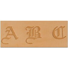 "Craftool 3/4"" (19mm) Old English Alphabet Set Tandy Leather Item 8142-00"