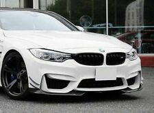 AC Style Carbon Fibre Front Splitters For MY14-18 BMW F80 M3 / F82/F83 M4 (CF)