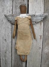 PATTERN~MY PRIMITIVE SALTBOX/PLAIN JANE ANGEL DOLL HANGER/RUSTIC/COUNTRY/ PT109
