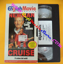film VHS THE COLOR OF MONEY Il colore dei soldi ENGLISH MOVIE Cruise(F107)no dvd