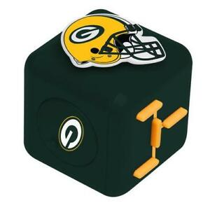 Green Bay Packers Fidget Cube NFL New Spinners and Cubes - IN STOCK