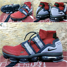 NIKE AIR VAPORMAX FLYKNIT UTILITY Shoes Team Red Uk 6.5 Eur 40.5 AH6834 600