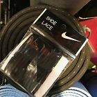 Nike Authentic Round Shoelaces for High Shoes 120cm Sport Running Black White