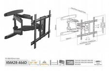 "KMA28-466D Elegant Full-motion 37""-70"" LED,LCD Flat Panel TV Wall Mounts"