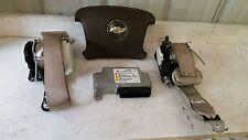 06 07 08 Chevrolet Impala Air Bag Set Wheel dash Belts Module Brown