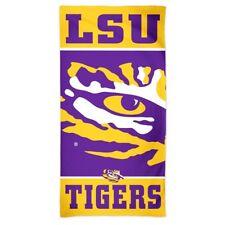 lowest price a72e0 af3f3 NCAA LSU Tigers Fiber Beach Towel 30 X 60-inch
