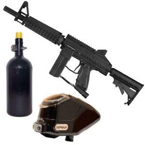 Tippmann Stryker XR1 Paintball Markierer Package - black