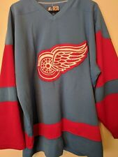 Vintage Blue Detroit Red Wings Starter Jersey - Large