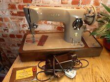 Vintage Singer 201k Electric Sewing Machine EK679192 Serviced Leather Video Work
