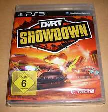 Playstation 3 PS3 Spiel - Dirt Showdown ( Deutsch Rennen Stunts ) - Neu OVP