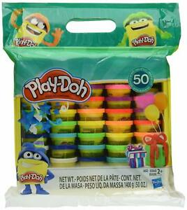 Play-Doh Modeling Compound 50- Value Pack Non-Toxic Assorted Colors 1-Ounce Cans