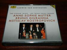 2 CD BEETHOVEN the string trios POUR CORDES mutter GIURANNA rostropovich VIOLON