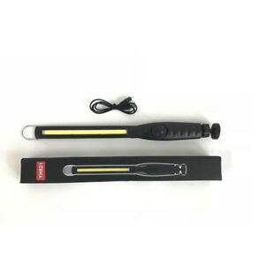 COB LED Rechargeable Work Light USB Hand Torch Inspection Lamp Flexible