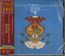 TASHI-MESSIAEN: QUARTET FOR THE END OF THE TIME-JAPAN CD Ltd/Ed B63