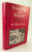 1970 LETTERS ON DEMONOLOGY AND WITCHCRAFT SIR WALTER SCOTT ORIGINAL DUST JACKET