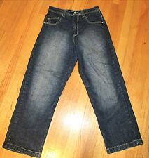 Boys South Pole Blue Jeans with designs, Sz 30x40