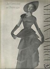 40's Erwin Blumenfeld Photographed Neiman-Marcus Fashion Ad