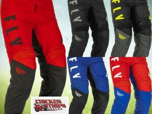 NEW FLY RACING 2022 F-16 MOTORCYCLE MX ATV BMX RACING Pants ALL COLORS AND SIZES