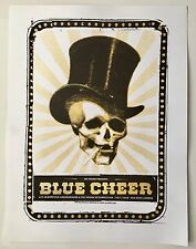 Original Blue Cheer Poster, created for The Red Devil Lounge San Francisco