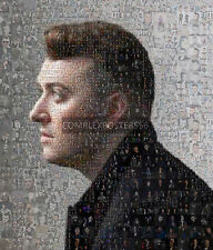 Gran Póster De Foto Mosaico original en varios colores de Sam Smith Nº 2