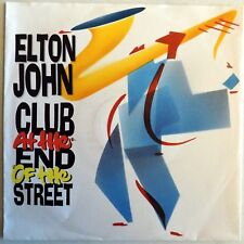 """Elton John - Club At The End Of The Street - 7"""" Single - Germany - 1988 - NEW"""