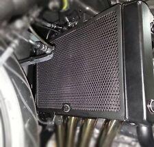 R&G RACING RADIATOR GUARD IN BLACK TO FIT HONDA CBR650F '14-'18 / CB650F '15-'18