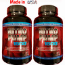 2X NITRIC OXIDE L-ARGININE Build Muscle Pump Extreme 60 CAPS 1600 MG Work Out