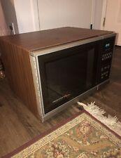 Vintage 1987 Amana Radarange Microwave Oven Touchmatic