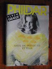 CATALOGUE PHILDAR n°143 de 1987 - Femme et Homme - Aiguille et crochet