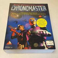 Chronomaster PC CD-ROM Game BIG BOX Brent Spiner Ron Perlman COMPLETE Zelazny