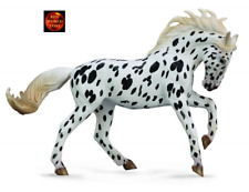Knabstrupper Black Leopard Mare Toy Horse Model Figure by CollectA 88720 New