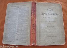 FRANCESCO PETRARCA RIME 1904 editore BARBERA interpretazione di GIACOMO LEOPARDI