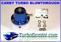 BLOW THROUGH Carb Turbo FUEL PRESSURE REGULATOR rising rate Gemini Datsun Carby