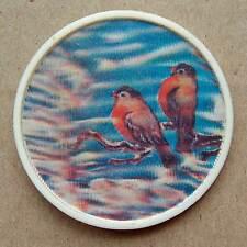 BULLFINCH BIRD Pin Badge 3D cartoon hero Animation children kid Russian USSR