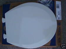 Bemis Kohler Molded Wood Biscuit toilet seat round w/ cover New 500 Ec 346